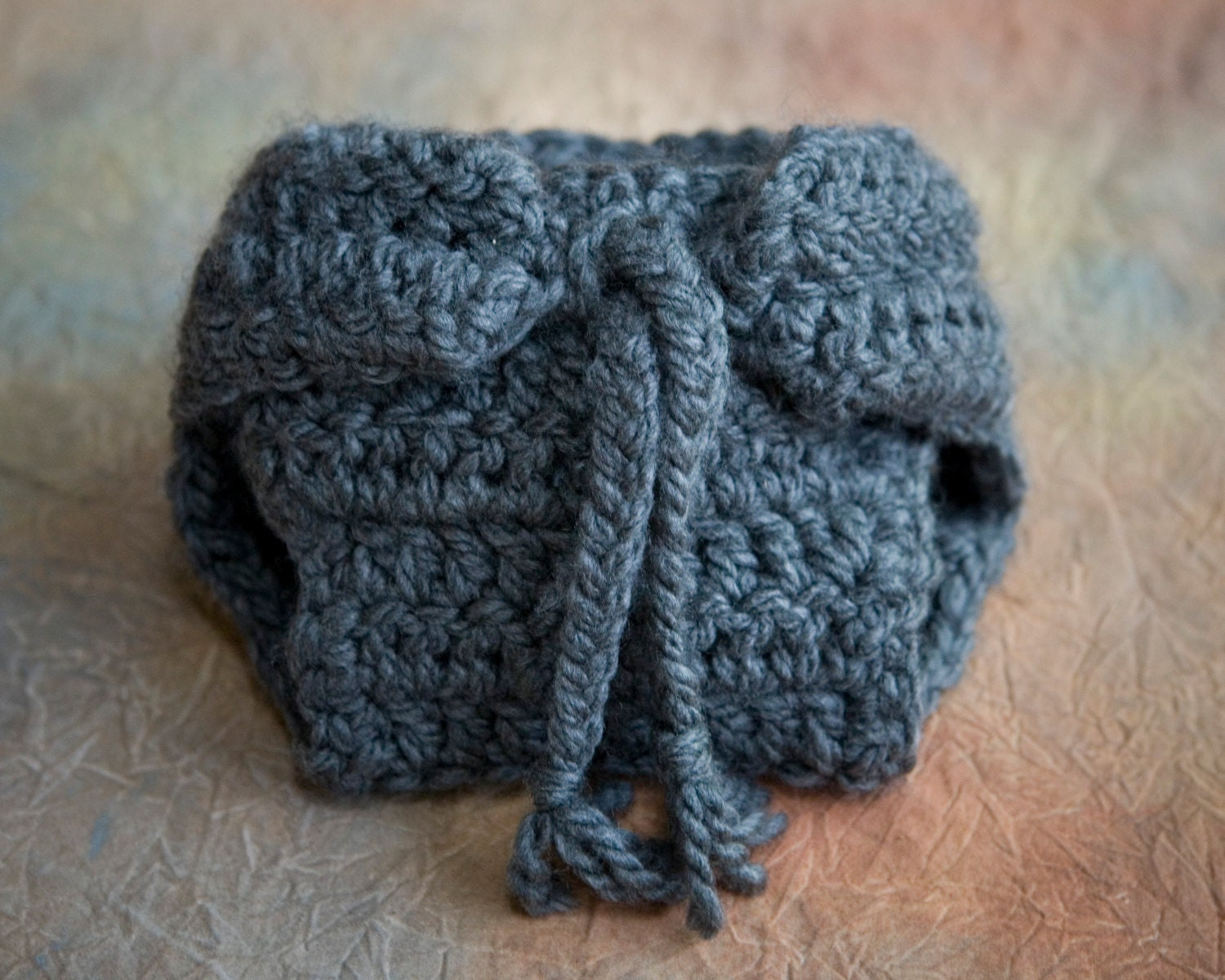 Elephant Baby Hat and Diaper Cover Crochet Pattern, Toboggan ...