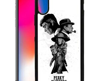 Peaky BLinders TV Show Custom Print Case for iPhone 6 6s 7 8 Plus & X PB04