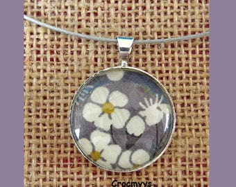 Liberty necklace mitsi grey