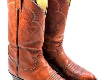 Vintage TONY LAMA 5084 Cowboy Boots 9 E