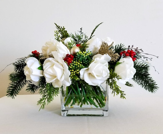 Fresh Floral Creations For your Holiday Table - Cedar ...