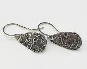 Fine Silver Earring