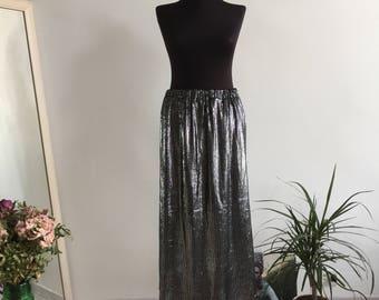 Sparking Shiny Vintage Skirt