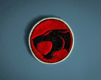 Thundercats Logo -- Embroidered Iron-on Patch
