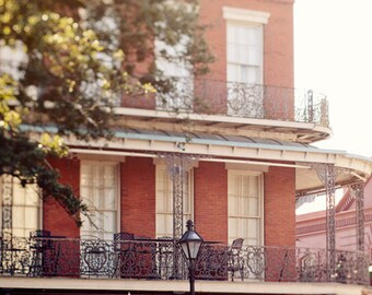 new orleans photography, pontalba building, french quarter architecture art, jackson square, balcony art, new orleans art