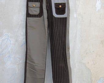 Lee patchwork pants corduroy