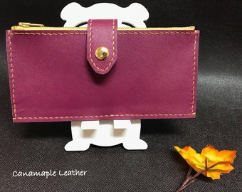 Leather Women's Card Case
