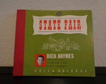 Selections From Rogers And Hammerstein's State Fair - 78 Vinyl Record
