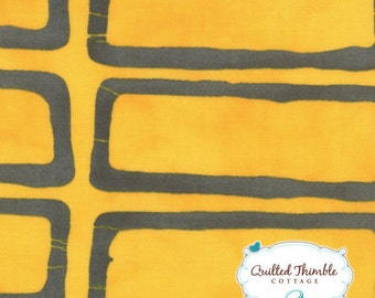 Yellow Steel (23202-11) - A Stitch in Color by Malka Dubrasky - 1 Yard