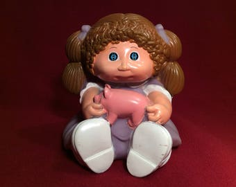 Vintage 1983 Cabbage Patch Piggy Bank by Appalachian Artworks, Inc.
