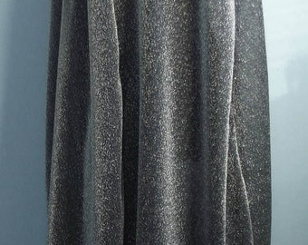 Harry Potter Invisibility Cloak cape inspired by book Harry Potter & Philosopher's Sorceror's Stone fluid silvery grey shining fabric ADULT