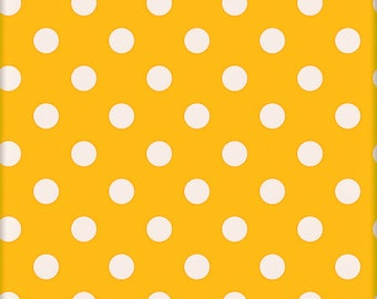 Quilting Fabric, Fat Quarter Single, Craft Supplies, Yellow/White, Cotton, Baby/Diy/Sewing Material, Apparel/Sewing Material,