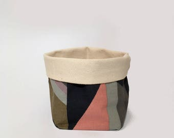 small - colorful/ utensilo, storage, storage bin, fabric basket, fabric box, storage basket, home organisation