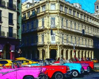 Havana Cuba Classic American Cars