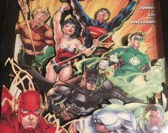 Comic Book Cover Shadow Box - Justice League