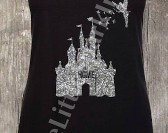 Disney castle home shirt Disney castle home shirt cinderella castle home  tank home is where the castle is castle home disney shirt