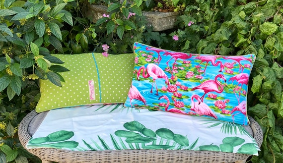 Flamingo Bolster Cushion Pink Flamingo Pillow Outdoor Simple Better Homes And Gardens Langston Collection Oblong Decorative Pillow