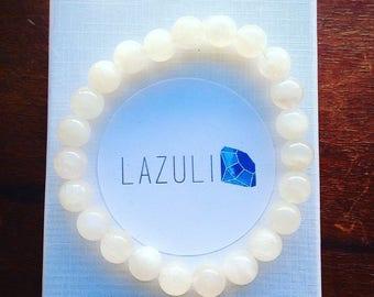 Moonstone bracelet.Healing stone bracelet. Crystal bracelet. Genuine stones. Yoga jewelry. Stackable bracelet