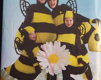 Simplicity Bumblebee Family Costume Pattern 2829
