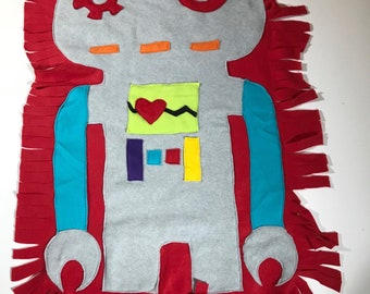 Giant Robot Cuddle Creature Security Blanket