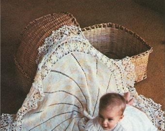 Vintage Crochet Baby Blanket Pattern