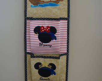 One, Two, Three, Four or Five Pocket Pirate Theme Fish Extender