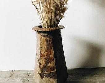 Vintage ceramic vase | studio pottery | large ceramic vase | #1803