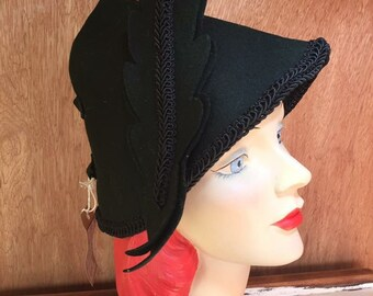 Home front 40s pixie hat