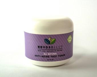 All Natural, Organic Anti-Aging Toner