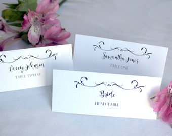 Wedding Table Place Tags for guests Wedding Name tags wedding place cards Custom