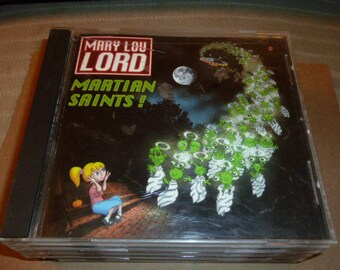 Mary Lou Lord CD Martian Saints 1996