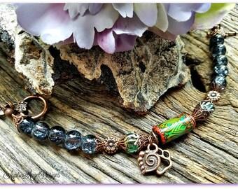 Rainbow Bridge, Pet Lover Mood Bead Bracelet, Pet Sympathy Bracelet, Loss of Pet, Pet Memorial Jewelry, Pet Sympathy Jewelry, Pet Loss Gift