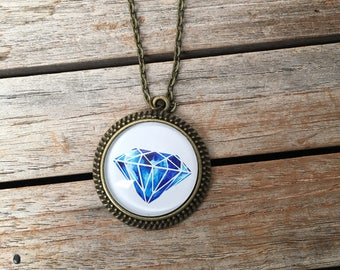 CLEARANCE Round Edged Pendant