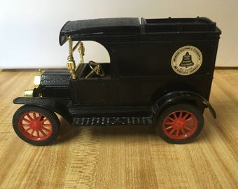 1913 Replica Model T Ford Van Penny Bank Bell System Truck Bank