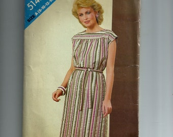 Butterick Misses' Dress Pattern 5145