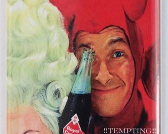 Royal Crown Cola FRIDGE MAGNET Vintage Ad Soda Pop Halloween