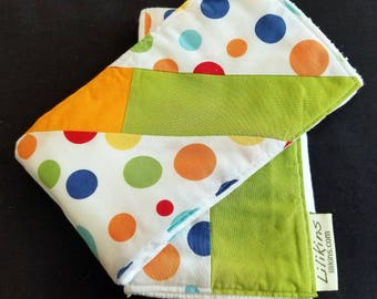 Didi Dodd Digs Dots - Burp Cloths