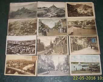 Vintage 1910 a 1960 postcards