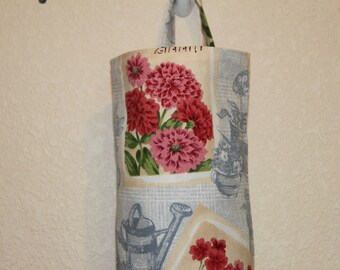 Plastic bag holder, grocery bag holder, bag holder/storage, bag dispenser.