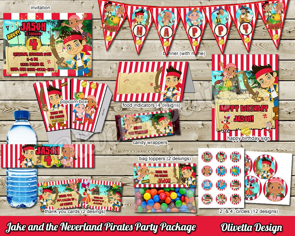 75+ Food Ideas For Jake And The Neverland Pirates Party - Jake And ...