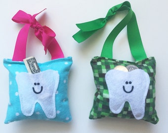 SALE!! Tooth Fairy Pillows- New designs are here!