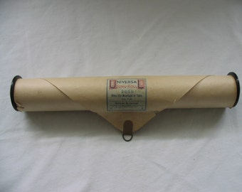 Vintage Player Piano Roll When It's Moonlight In Tokio #2655 Universal 1917 Great Photo Prop