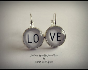 LOVE Earrings - Seriously Cute!