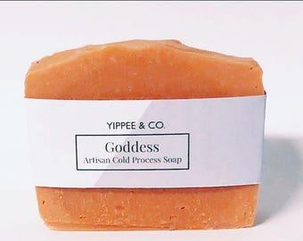 Goddess, Artisan Cold Process Soap, Handmade Soap