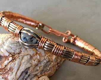 Wire Wrapped Tutorial: Boston Bracelet
