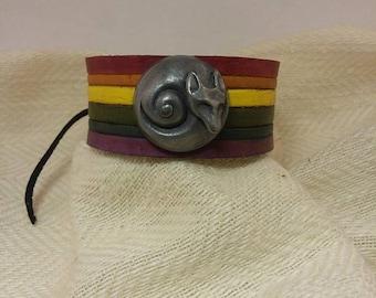 Silver PrideFoxxen Bracelet