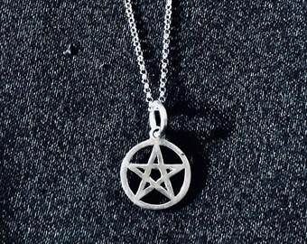 Tiny Pentagram Pendant