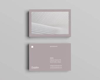 Dublin Business Card Template