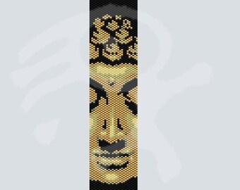 Buddha...PDF peyote pattern