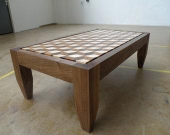 Tumbling coffee table